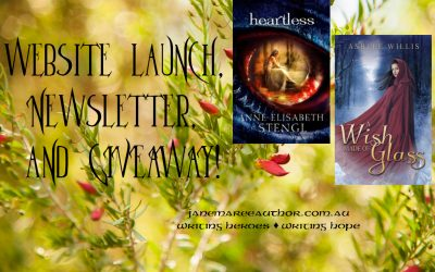 Website Launch, Newsletter, and GIVEAWAY!