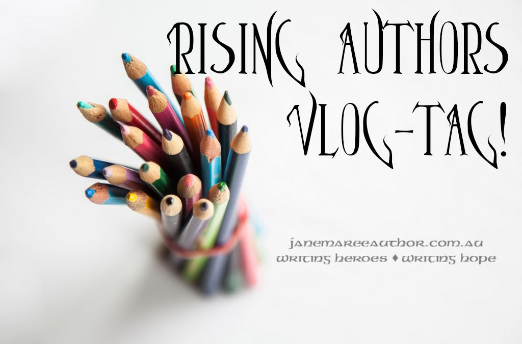 Rising Author Vlog-Tag!