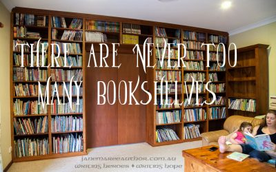 There are Never Too Many Bookshelves