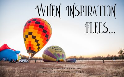 When Inspiration Flees…