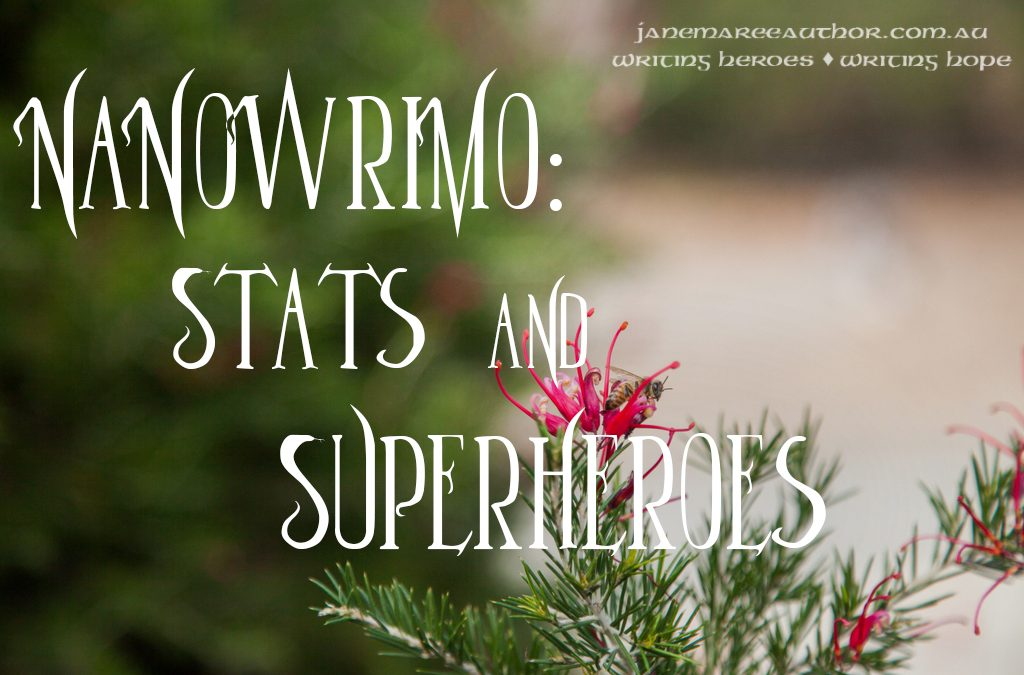 NaNoWriMo: Stats and Superheroes