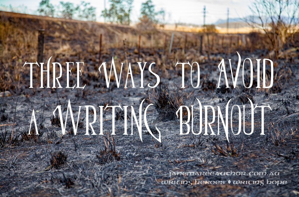 Three Ways to Avoid a Writing Burnout