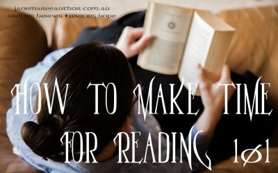 How to Make Time for Reading 101