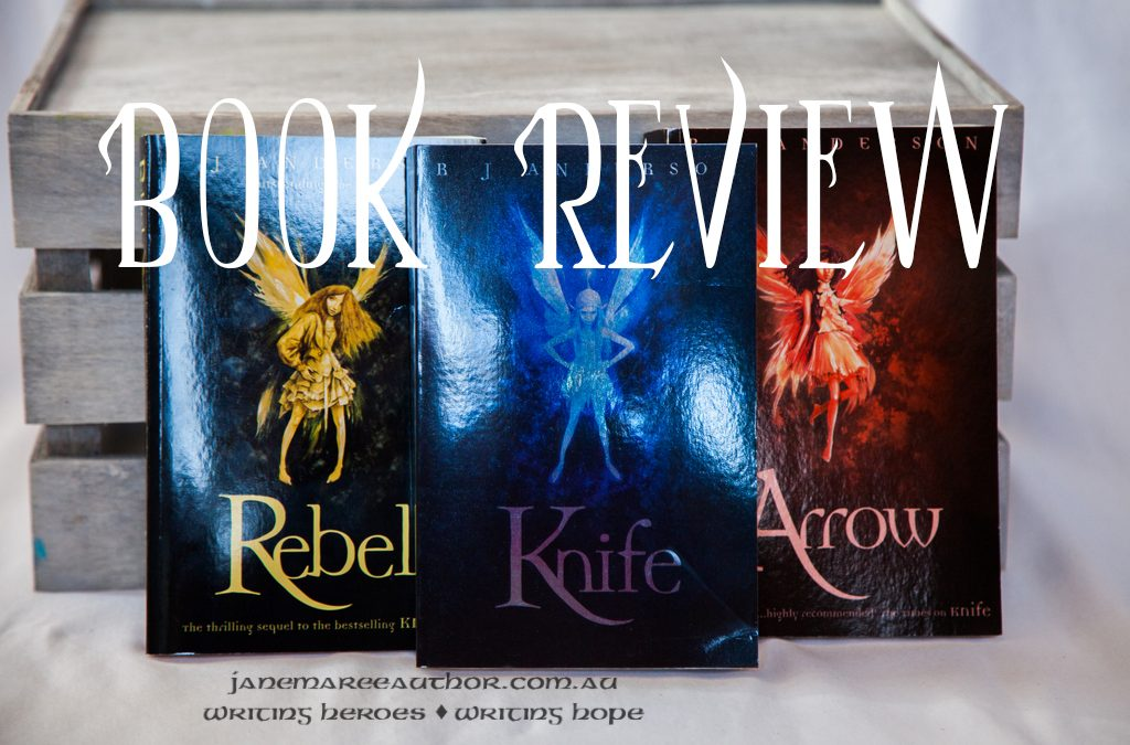 Book Review: Knife – R. J. Anderson