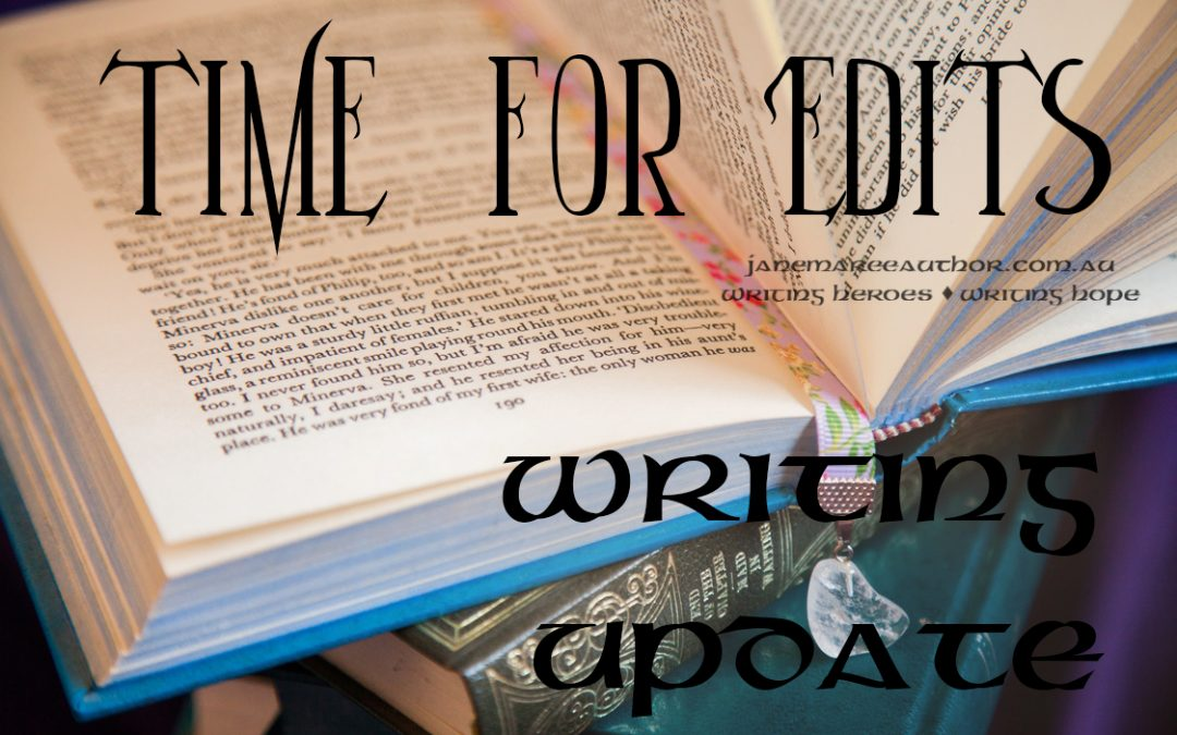Time for Edits – Writing Update