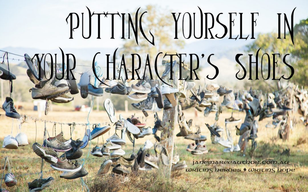 Putting Yourself into Your Character's Shoes