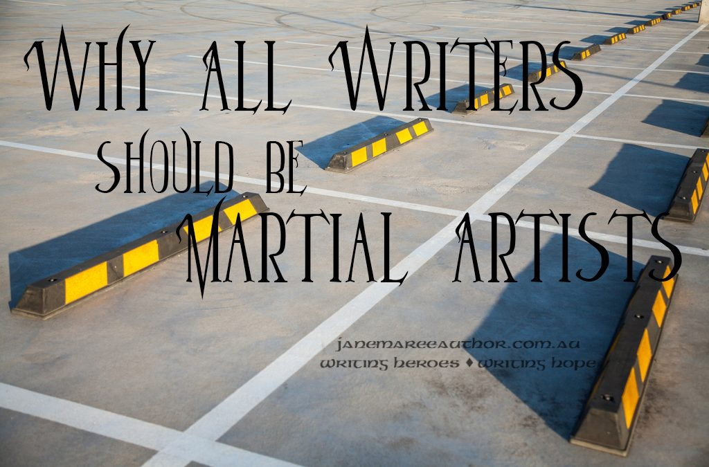 Why All Writers Should be Martial Artists