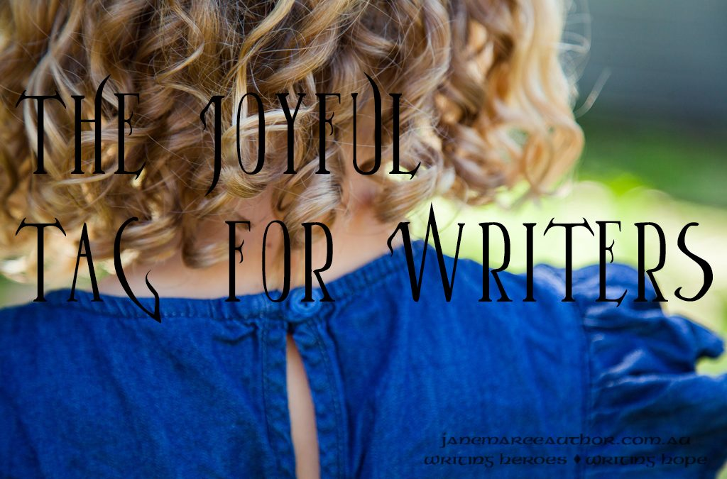 The Joyful Tag for Writers