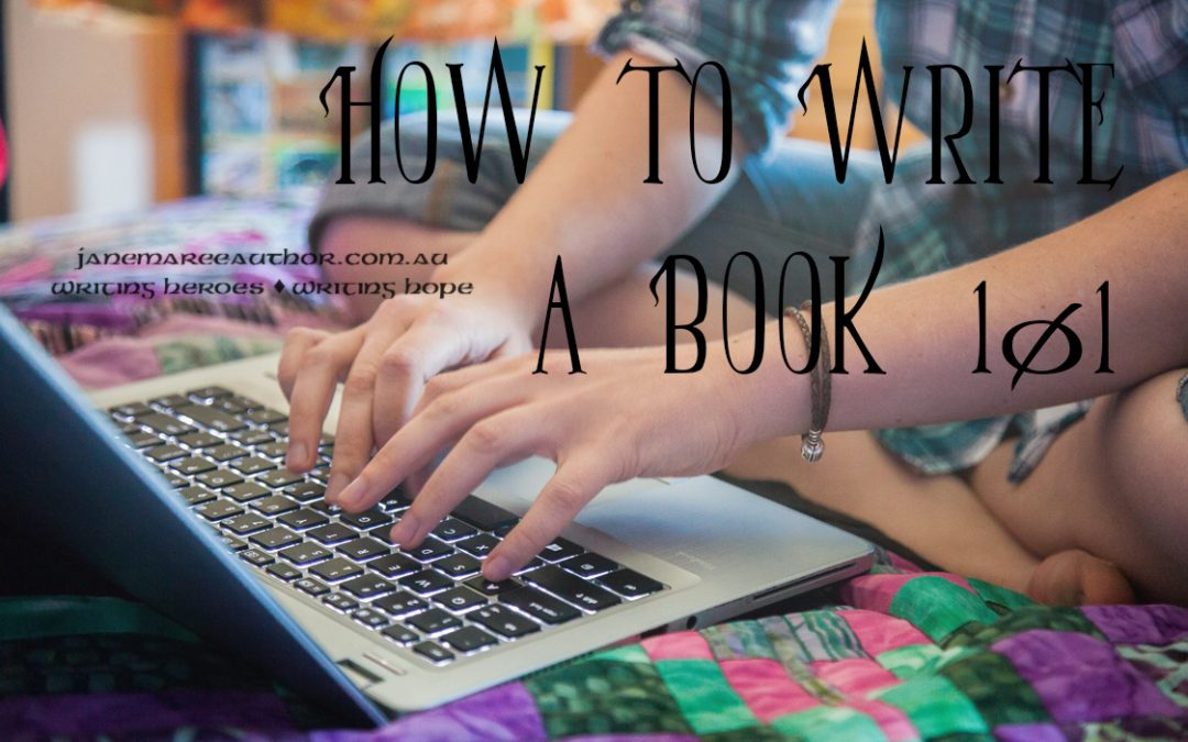How to Write a Book 101