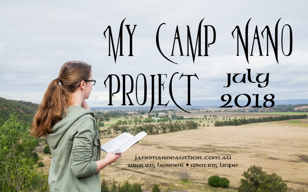 July's Camp NaNo Project (Feat. Why I Write So Many Novels)