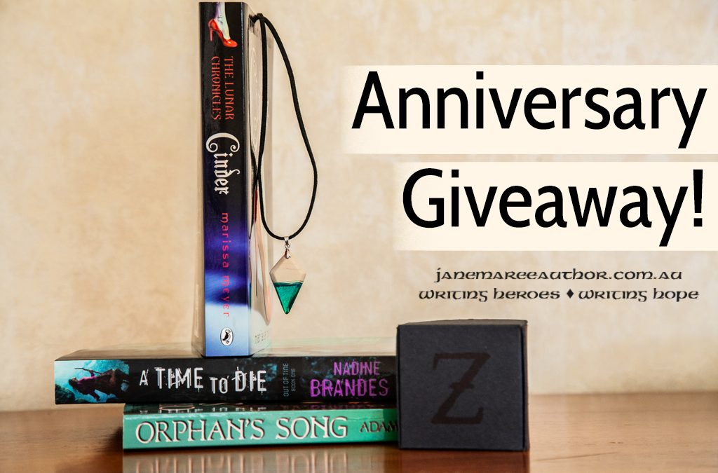 It's an Anniversary! (+ GIVEAWAY AWESOMENESS)