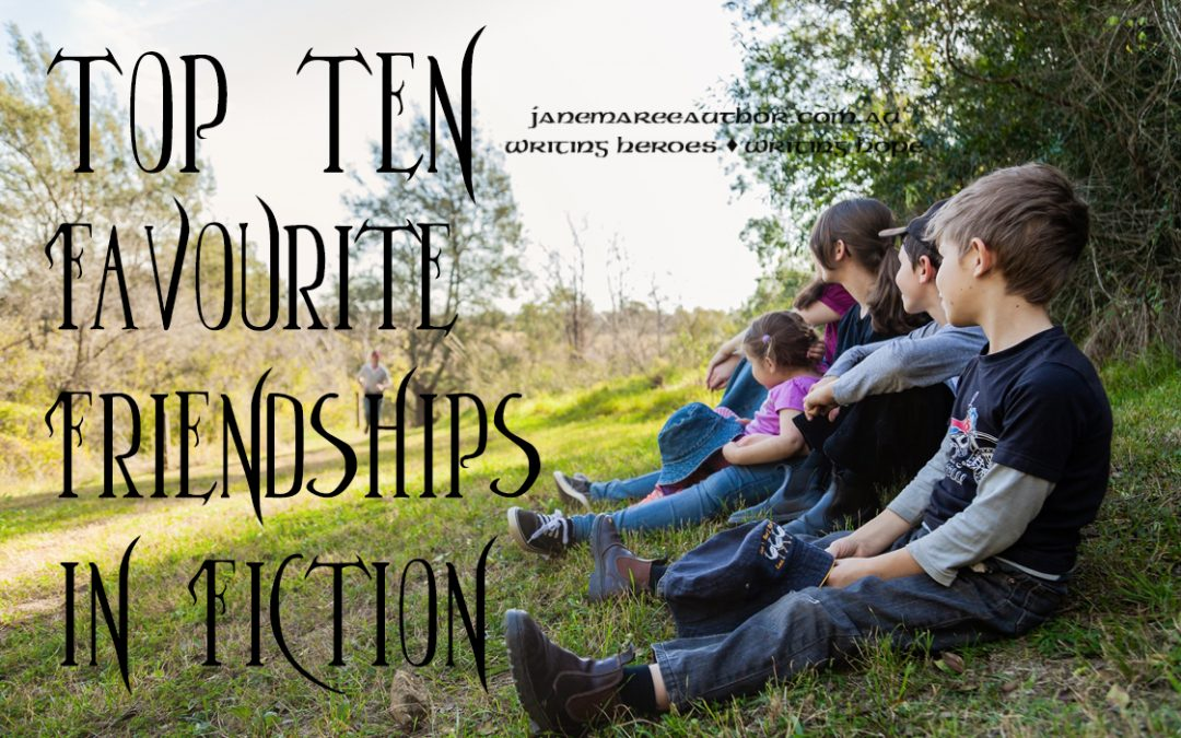 Top Ten Favourite Friendships in Fiction