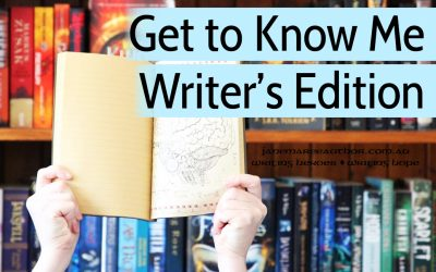 The Get To Know Me Tag – Writer's Edition