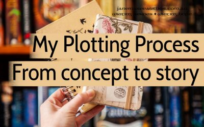 My Plotting Process: Making a Concept into a Story