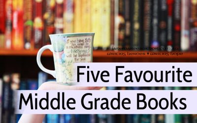 Five Middle Grade Novels I Love