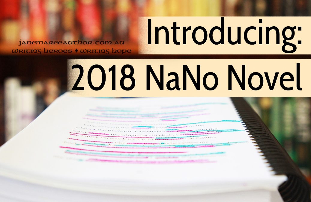 Introducing My NaNoWriMo Project