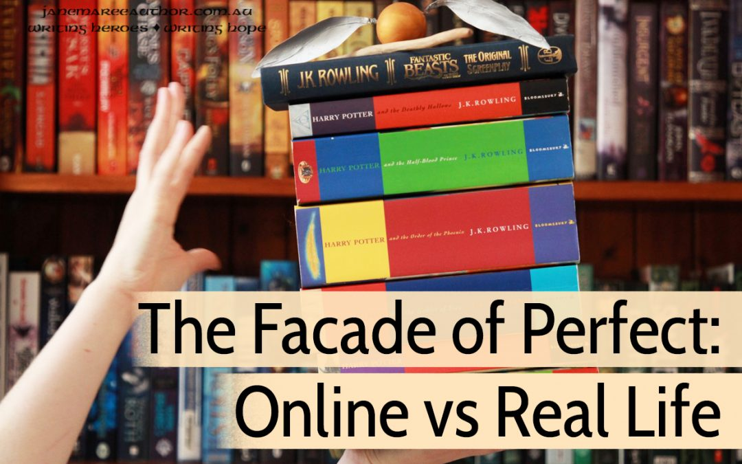 The Facade of Perfect: Online vs Real Life