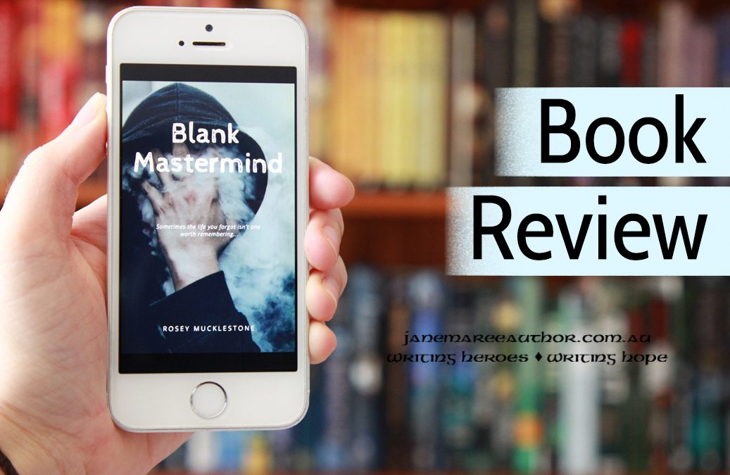 Book Review and Author Interview: BLANK MASTERMIND, Rosey Mucklestone