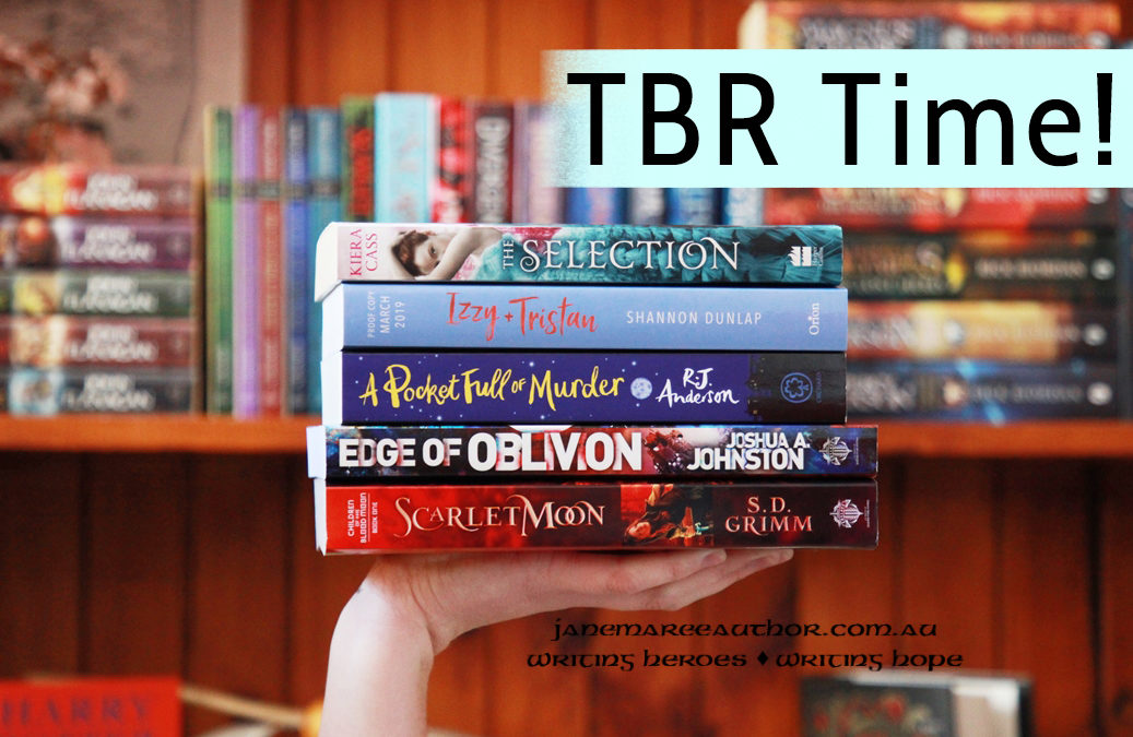 TBR Time: Top Seven Books I Want to Read