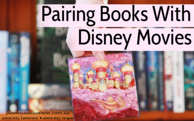 Pairing Books and Disney Movies: the true fairytale match