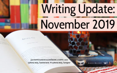 Writing Updates: November 2019