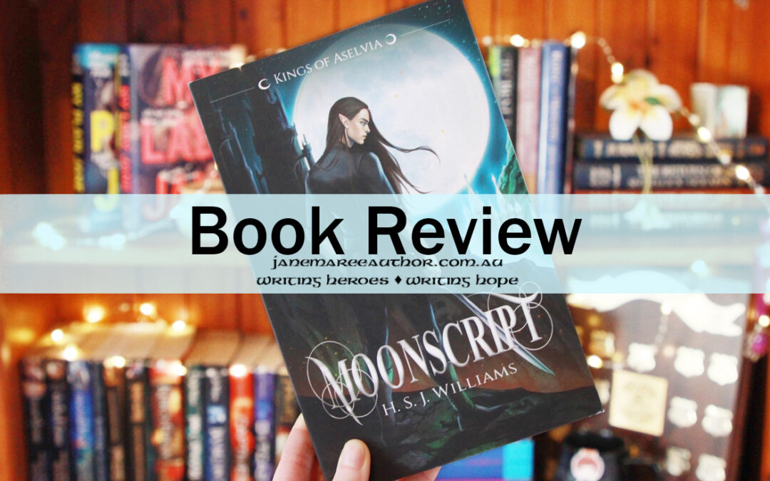 Book Review: MOONSCRIPT, H.S.J. Williams