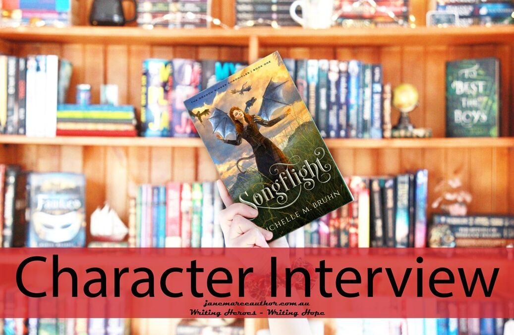 SONGFLIGHT, Michelle M. Bruhn – Character Interview